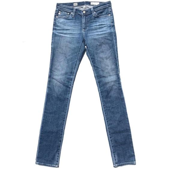Ag Adriano Goldschmied Denim - AG Theory Premiere Skinny Straight Jeans Size 25